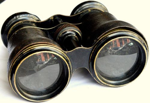 Vintage-Binoculars-With-Case