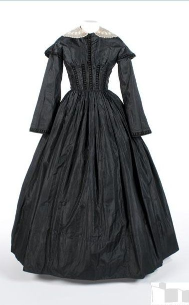 Dress c.1855 Indiana State Museum