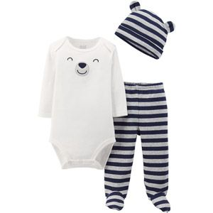 Child of Mine by Carter's Newborn Baby Boy Take-Me-Home Outfit Gift Set