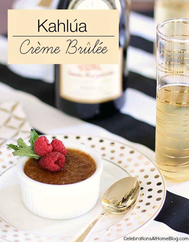 I used to think that anything as decadent, delicious, and French ascreme brulee must be difficult to make. Then an old co-worker shared a recipe for Kahlua Creme Brulee with me and I realized how easy it actually is. She had made it the night before and brought a few ramekins to work to share. It