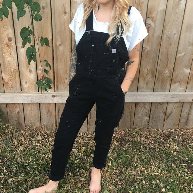 bd4809bf5be2 Listed on Depop by softpaw in 2019 | Style | Fashion, Carhartt overalls,  Outfits
