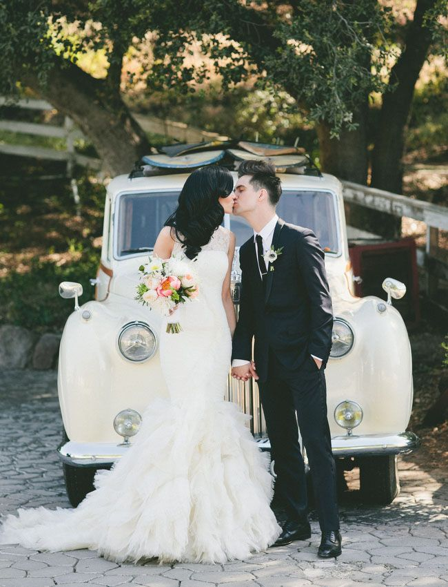 Snippets, Whispers & Ribbons #74 GLAMOROUS MALIBU WEDDING from Onelove Photography