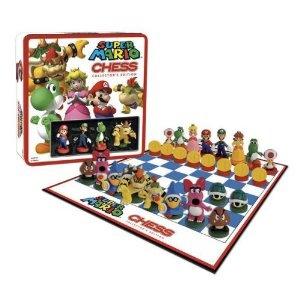 Super Mario Bros chess set