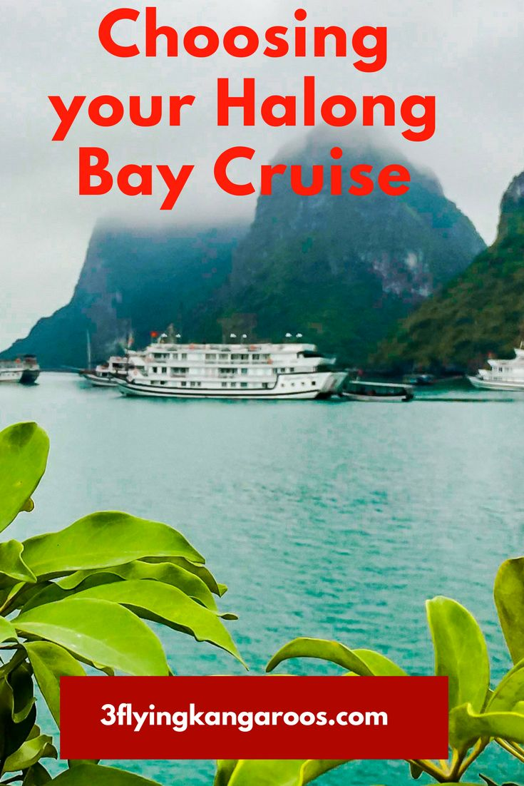 Choosing Your Halong Bay Cruise http://3flyingkangaroos.com/vietnam/halong-bay-cruise/