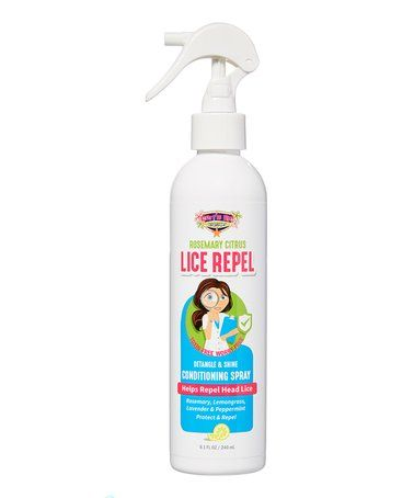 This Surf's Up Lice Repel Rosemary & Citrus Leave-In Conditioner Spray is perfect! #zulilyfinds