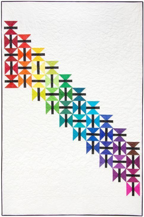 Hope Takes Flight Free Pattern: Robert Kaufman Fabric Company