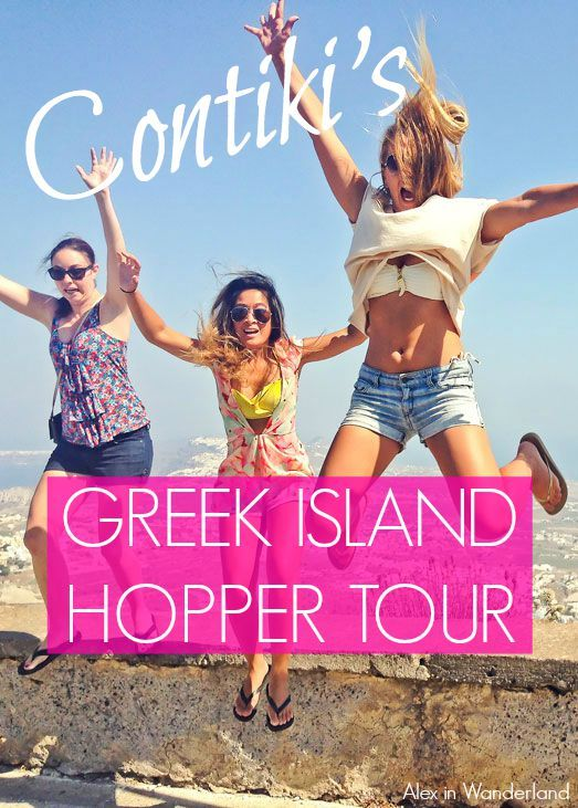 Group tours aren't usually my preferred way to travel, but I was pleasantly surprised by how much fun I had on Contiki's Greek Island Hopper tour | Alex in Wanderland