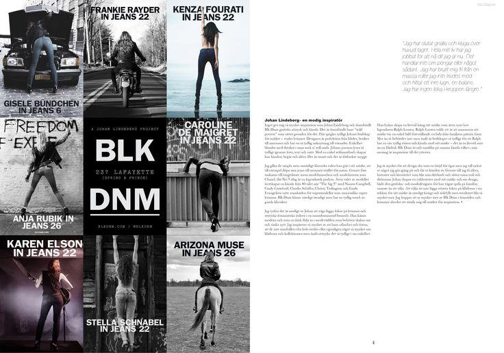 CASE: Write and design a two spread article about a designer. Spread 2.