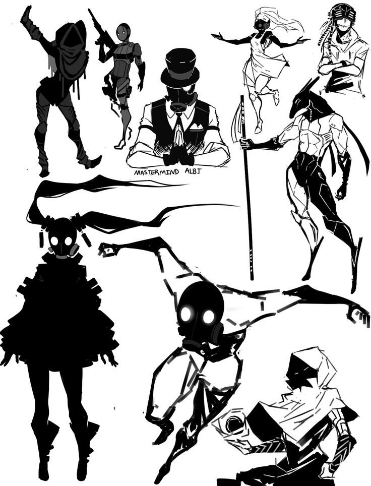 original sketches by kada-bura on tumblr