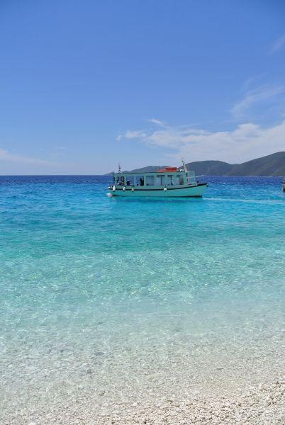 Wonderful blue green beach