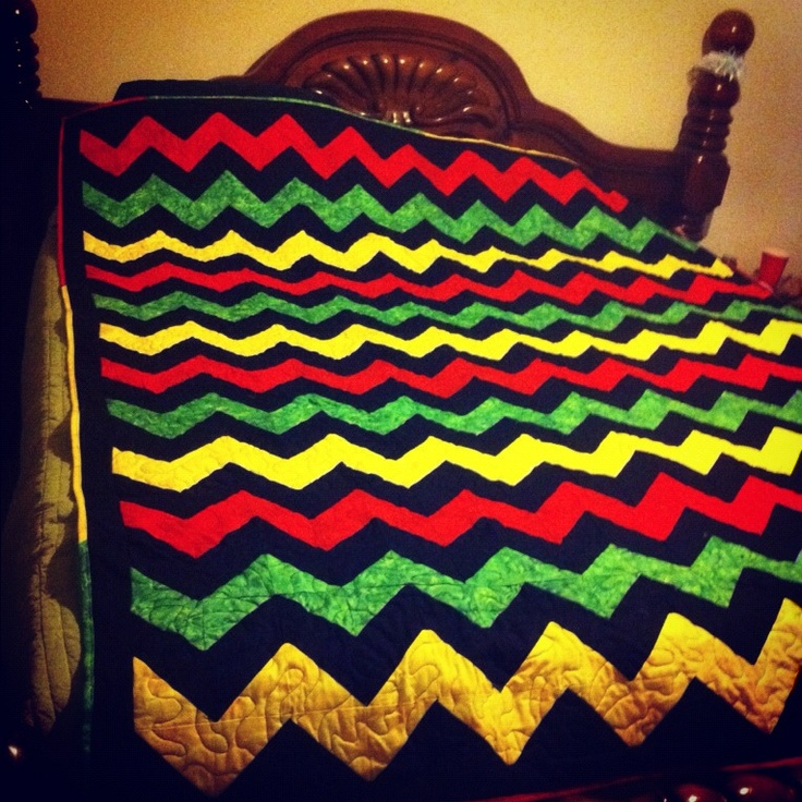 My Completed Rasta Quilt Crochet Bob Quilt Patterns