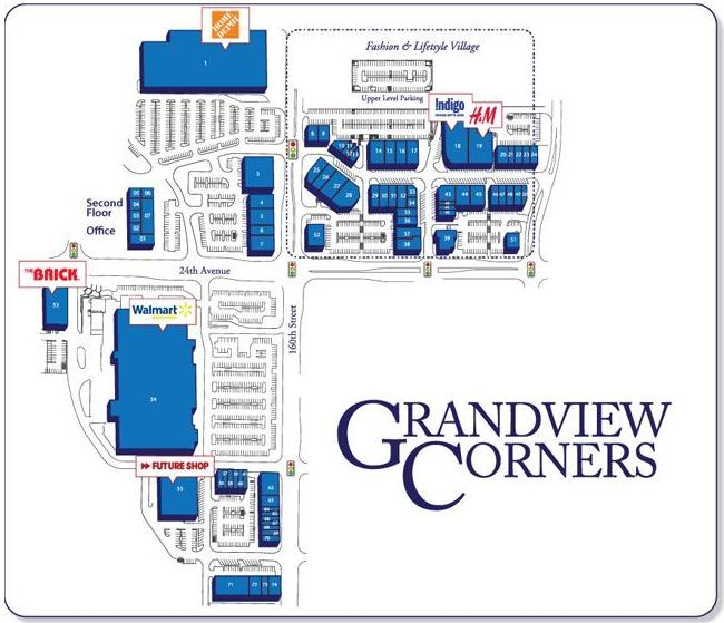 Grandview Corners Shopping Centre shopping plan | Shopping ...