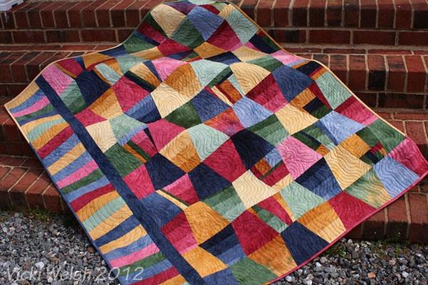 2012 March 15 - Veteran's quilt by vickiwelsh, via Flickr