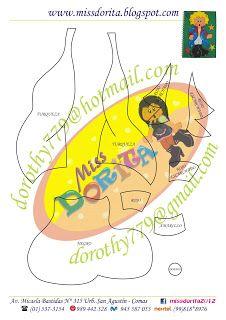 Miss Dorita principito molde 2