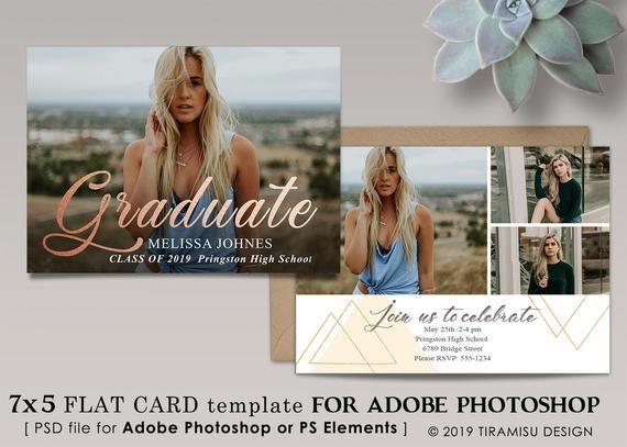 Senior Graduation Announcement Template Senior Grad Etsy Graduation Announcements Graduation Announcements High School Graduation Invitations