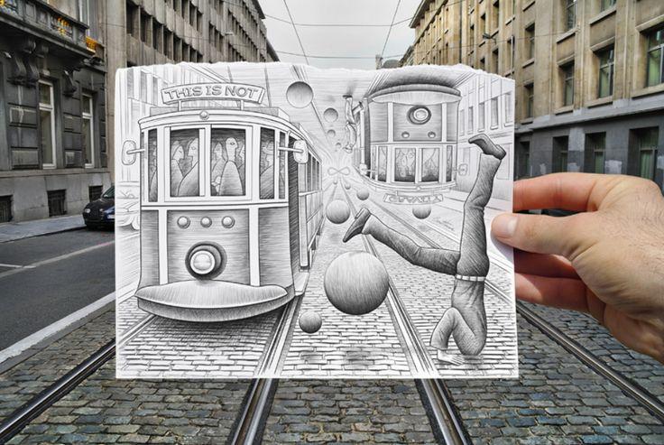 Pencil vs. Camera: The Surreal Works of Ben Heine
