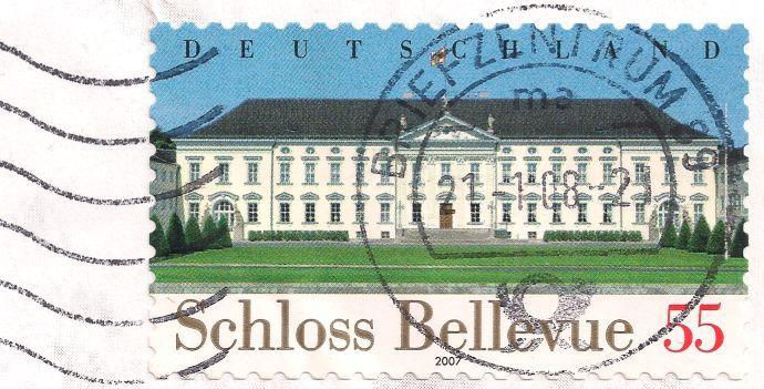 Briefmarke-Europa-Mitteleuropa-Deutschland-55-2007-Bellevue