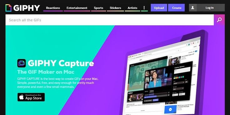 Animated GIF Maker on Mac – GIPHY Capture #software #online #tools #gifs