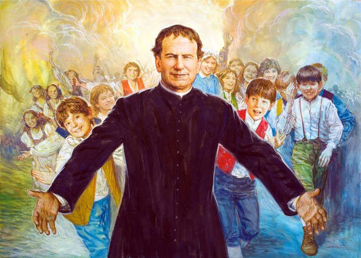 Necesitamos sacerdotes por las calles, que se hagan cercanos a los jóvenes. Les presentamos el modelo de vida de San Juan Bosco.