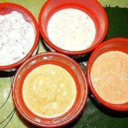 Sauces légères pour pierrade™, fondue bourguignone, ou apéritif