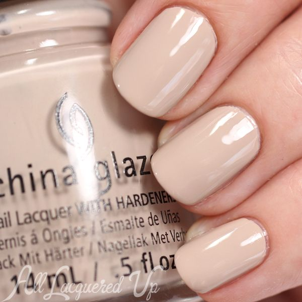 China Glaze What's She Dune? nail polish swatch - Desert Escape collection via @alllacqueredup