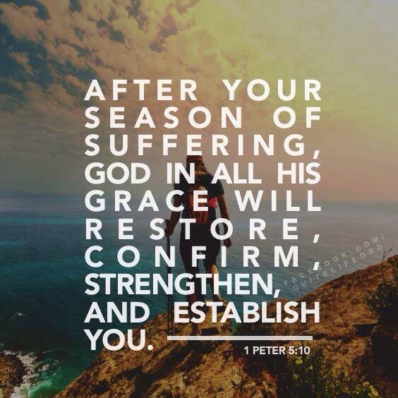 Godly Wallpaper Quotes 1 Peter 5 10 Verse Bibelverse Gottes Liebe Und Zitate
