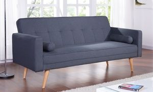 Groupon - Fabric Sofa Bed in Choice of Colours With Free Delivery. Groupon deal price: £169.99