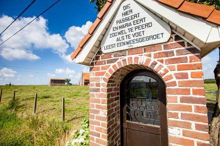 Wandelen door de Westhoek, België   oppad.nl
