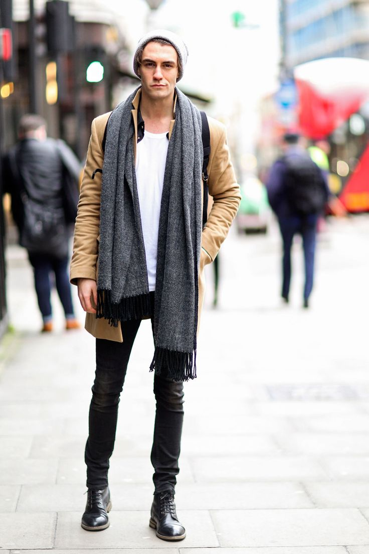 Cool. Men's Fall/Winter Casual Outfit.