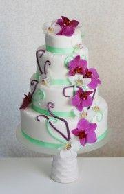 beautiful and tasty home made cakes by Vera Marsalli - wedding studio/agency www.verama.cz