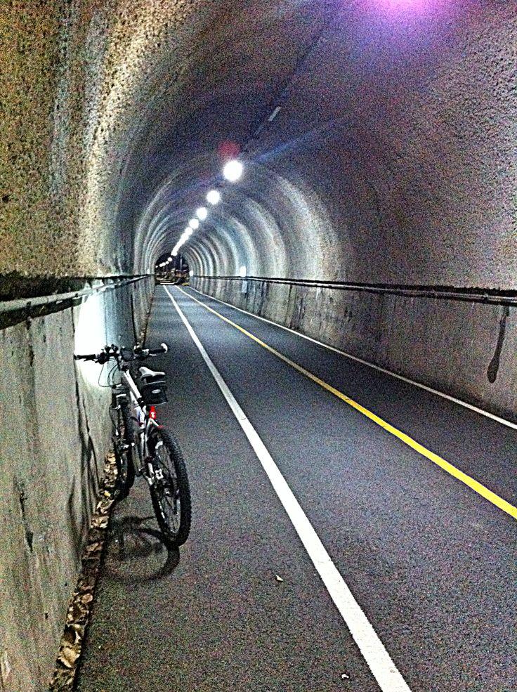양평군 에는 예전에 기찻길이였던 길을 자전거 전용도로로 사용하고 있다. 친환경적인 자전거 이용으로 건강도 챙기고 경치를 보러 많은 라이딩족이 몰리고 있다.    중간 중간에 자전거 터널을 지날 때는 매우 시원하다. 여름에는 더욱더!   날씨가 더울수록 야간 라이딩족이 늘고 있는 듯. 다행히 터널은 24시간 등이 켜져있다.   양평군 으로 자전거 타고 여행 오세요!!  Welcom to Yangpyeong for Cycle riders!!