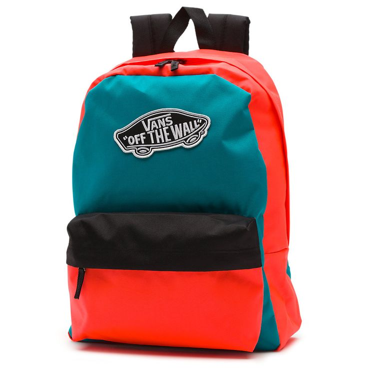 Colorblock Realm Backpack [NZ0CE5] - $39.99 : Vans Shop, Vans Shop in California