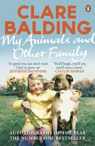 My Animals and Other Family by Clare Balding, http://www.amazon.com.au/dp/B008R96LMW/ref=cm_sw_r_pi_dp_0A8Fub00FKCRT