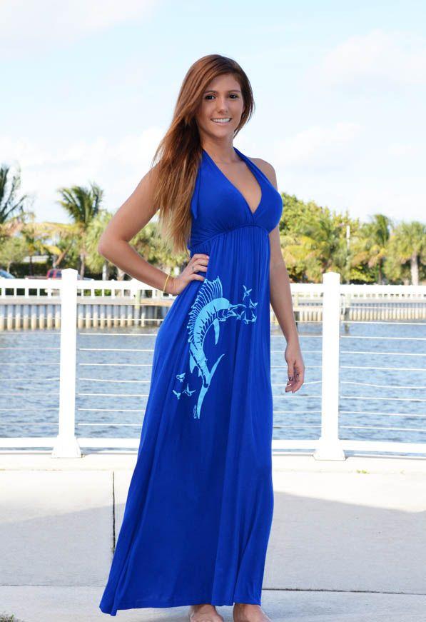 Maxi fishing dress
