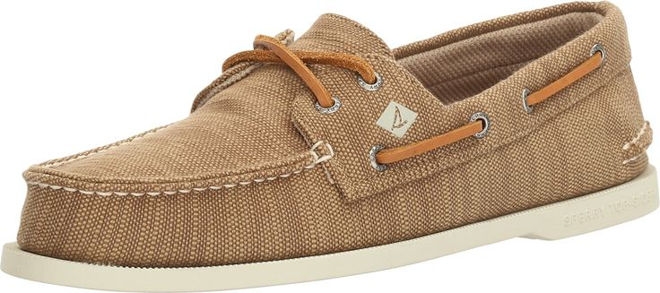 Sperry Top-Sider Men's Authentic Original Baja Boat Shoe (12 D(M) US, Chino)
