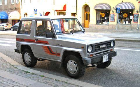 Daihatsu F300 (Rocky) Service & Repair Manual 1987-1998
