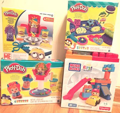 Toy Deals for Charity: Mega Blocks & Play-Doh deals were delivered yester...