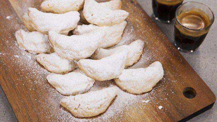 Greek Almond Shortbread