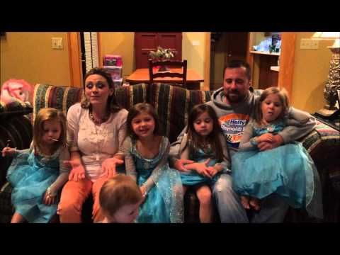 Eric McClure & Family (Let it Go) Frozen parody on 2015 addition - YouTube.  I can relate to this family!