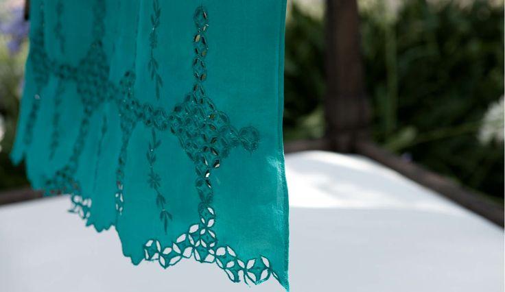 #emerald #foulard #colours #summer #inspiration #breeze