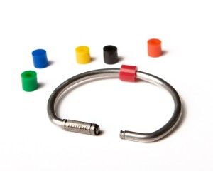 The Cobra Flexible Key Ring