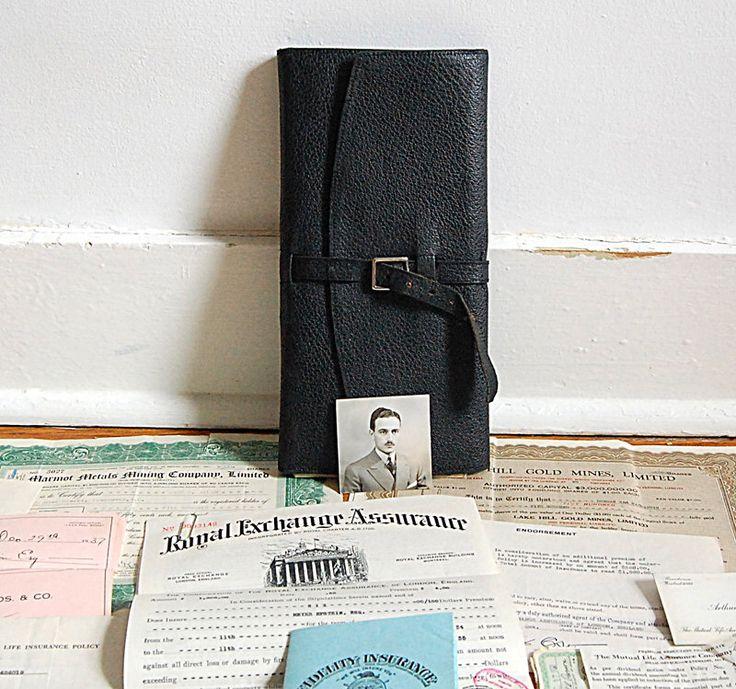 Vintage Insurance Document Folder 1930s Binder Insurance Receipt Ledger Folder Documents Paper Ephemera Lot Handwritten Original Receipts. by franz66 on Etsy https://www.etsy.com/ca/listing/286574735/vintage-insurance-document-folder-1930s