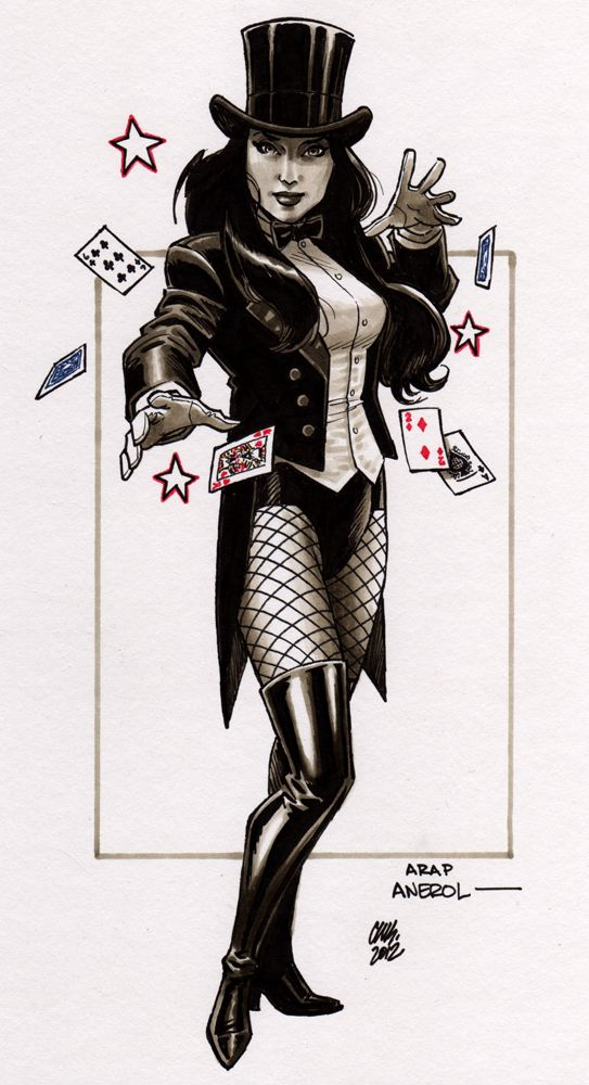 1000+ images about Zatanna on Pinterest | Bruce timm, The ...