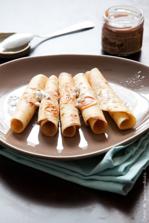 Typical French Crepe