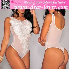 White Floral Embroidered Mesh Adult Bodysuit Under Wear Women Sex  Best Seller follow this link http://shopingayo.space