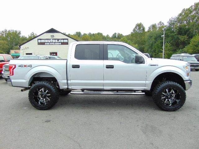 WWW.EMAUTOS.COM  JUST LIFTED 2016 Ford F-150 XLT SuperCrew 4x4 Truck for Sale in In Locust Grove VA - E & M Auto Sales #Emautos