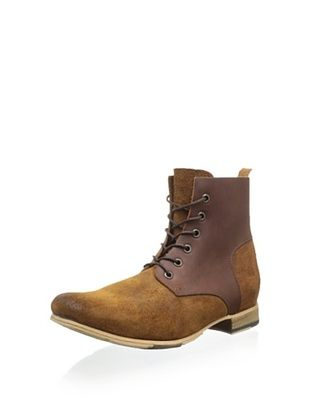 52% OFF JD Fisk Men's Collin Lace-Up Boot (Brown)