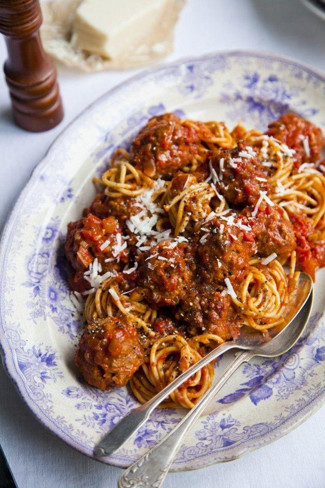 Bord Bia Spaghetti & Meatballs