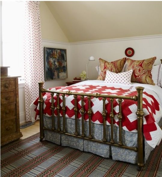 Attractive Sarah Richardson Brass Bed
