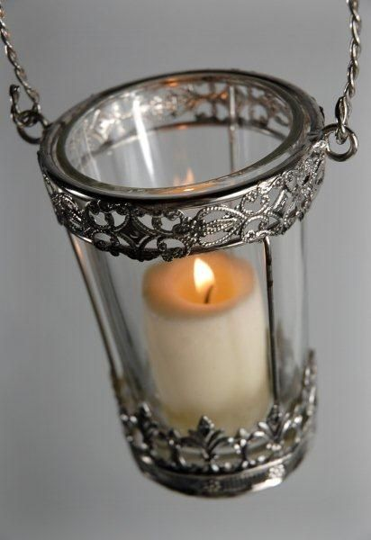 58 best suspended lanterns and lights images on pinterest for Hanging votive candles